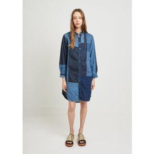 Patchwork Katmandu Dress 衬衣裙