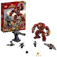 Lego 漫威超级英雄复仇者 钢铁侠反浩克装甲 76104  (375 片)