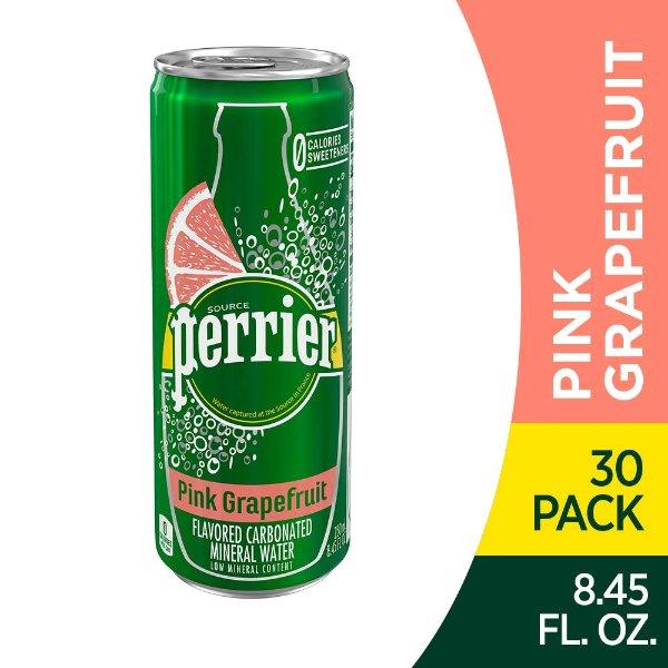 粉红西柚味气泡矿泉水 250ml 30罐