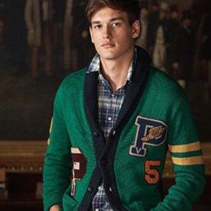低至3.5折Polo Ralph Lauren 精选男、女装热卖 收经典Polo衫