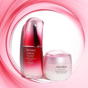满$100立减$20+6件套Shiseido 资生堂 护肤彩妆香水热卖 满额折抵送好礼