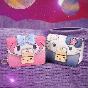 梦幻卡包$88起 超减龄单品上新:FURLA 全新 Hello Kitty 太空历险系列开售