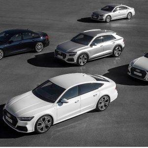 灯厂新语言 一篇就知道2019 Audi 豪华车型大集合