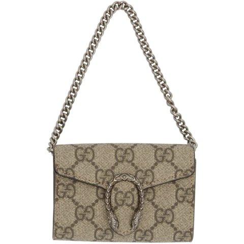 迷你老花酒神 £315收 手慢无Gucci 双G系列断货王黑色有货  钱包手包链条包三合一