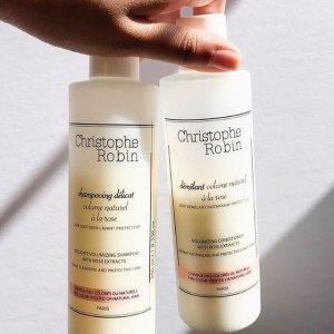 限时7折 €29收史低价:Christophe Robin 玫瑰丰盈护色洗发水 400ml
