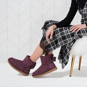 低至$79.99 冬季必备Rue La La 精选UGG 雪地靴等限时热卖