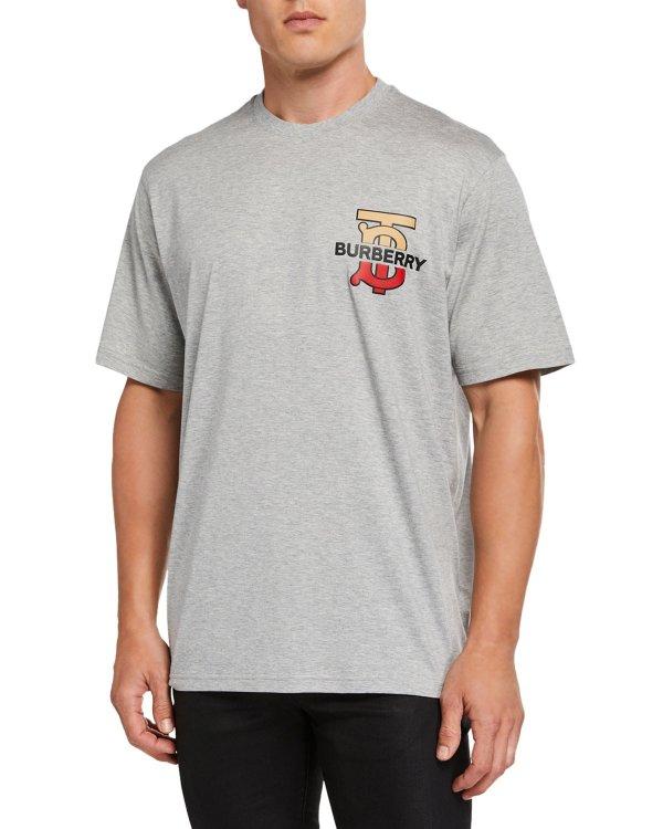 Men's Gately Logo Graphic T恤