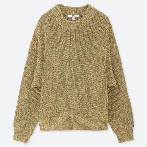 混色针织衫