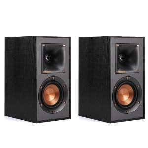 KlipschKlipsch R-41M Reference Bookshelf Speakers - Pair (Black Wood Vinyl)