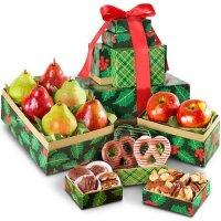 经典水果、巧克力、坚果套装