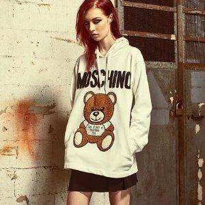 低至6.8折 $69收logoT恤Moschino 小熊T恤 连衣裙潮款热卖 收明星同款