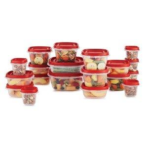 Coming Soon: $6.98 Rubbermaid Rubbermaid 38 Piece Efl Red Food Storage Set