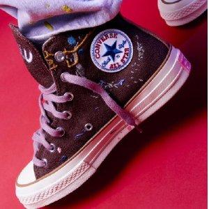 娜比同款Chuck 70仅€115Converse x Bandulu 联名系列正式发售 街头品牌的刺绣泼墨感