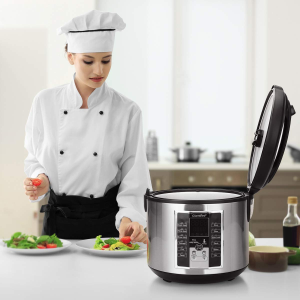 COMFEE' Rice Cooker, Slow Cooker, Steamer, Stewpot, Sauté All in One