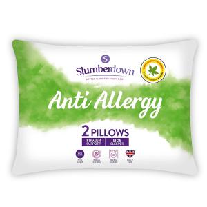 低至4.5折 £14收高支撑枕头Slumberdown 精选被子、枕头、电热毯热促
