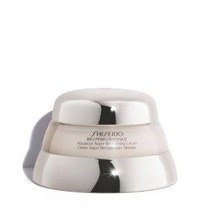 Shiseido提升弹性,重焕肌肤弹嫩百优精纯乳霜