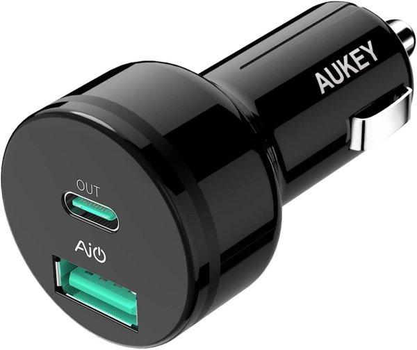 39W USB-C PD 车载快充