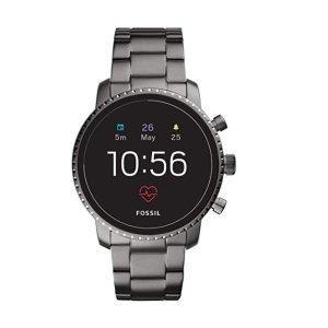 第四代 Fossil Explorist HR 智能手表 不锈钢款