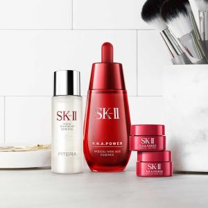 满额减2000日元+直邮美国Rakuten Global 精选SK-II 护肤品热卖 收神仙水,大红瓶眼霜
