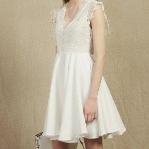 SandroBuy 3 Get Extra 20% OffShort Skater Dress, white