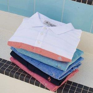 额外享7折Original Penguin官网 折扣区美衣热卖 $9.79收男士短袖