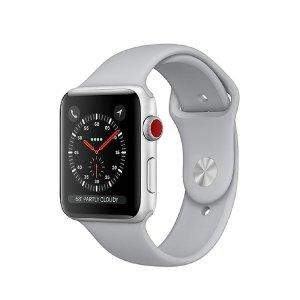 $279.99(原价$389.99)Apple Watch 3 蜂窝版 38mm/42mm