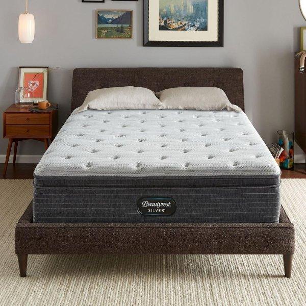 睡美人银标记忆棉弹簧豪华床垫 带Euro Top Twin