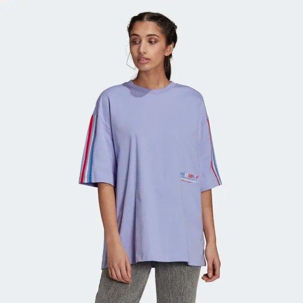 Adicolor Tricolor Oversize T恤