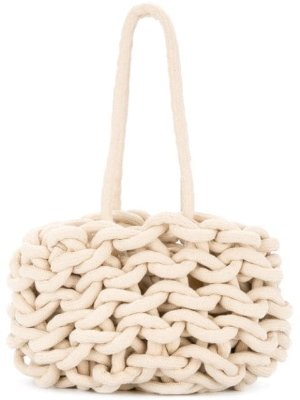 Alienina braided tote bag $226 - Buy Online SS19 - Quick Shipping, Price