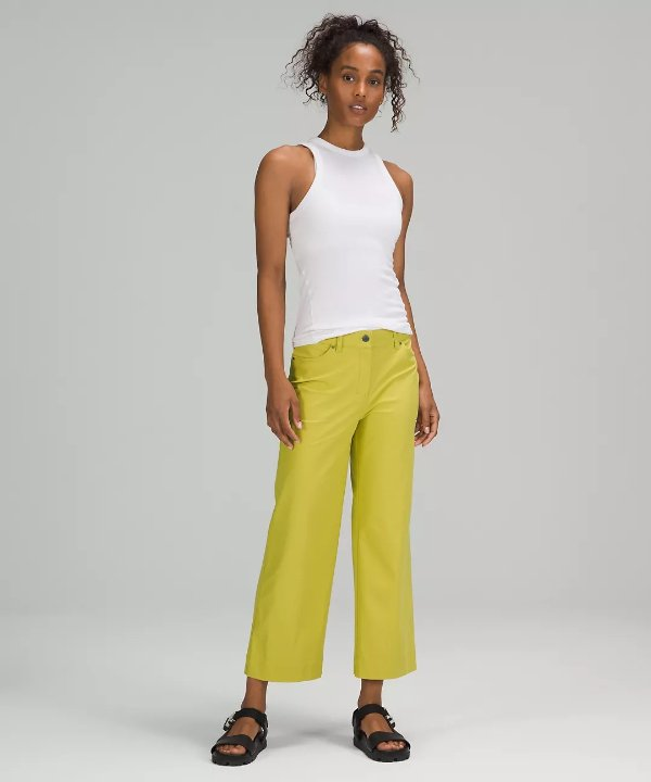 City Sleek 5 Pocket 阔腿裤