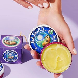 全场8折,$3.43起和蚊虫说拜拜即将截止:美国 Badger 网红助眠膏、防晒霜  全家一起用虫虫怕怕膏