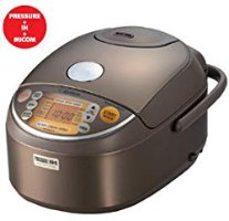 Amazon.com: Zojirushi Induction Heating Pressure Rice Cooker & Warmer 1.0 Liter, Stainless Brown NP-NVC10: Rice Cookers: Kitchen & Dining