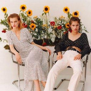低至2折 $23收泫雅风雏菊裙Topshop 全场美衣大促  轻松演绎英式优雅