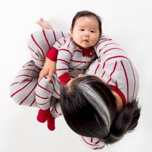 Ending Soon: Starting at $10Gingerbread Stripe Organic Family Matching Pajamas Sale @ Burt's Bees Baby
