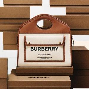 无门槛7折!€245收格纹衬衣Burberry 全场新款私促 收经典格纹衬衣、渔夫帽、新款包包