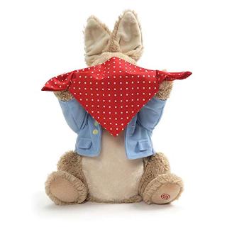 低至6.6折GUND 可爱毛绒玩具促销 收毛绒音乐捉迷藏小象