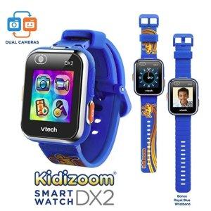 $40(原价$69.99)+包邮史低价:VTech DX2 触屏儿童智能手表,特别版