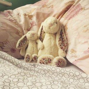 全场9折!£13起收邦尼兔Jellycat 玩偶上新 小乌龟、蟹老板、冰淇淋来啦~