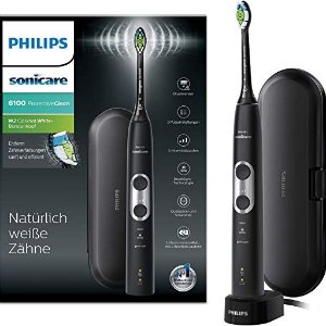 Philips Sonicare ProtectiveClean 6100 电动牙刷 黑五7.7折限时闪购