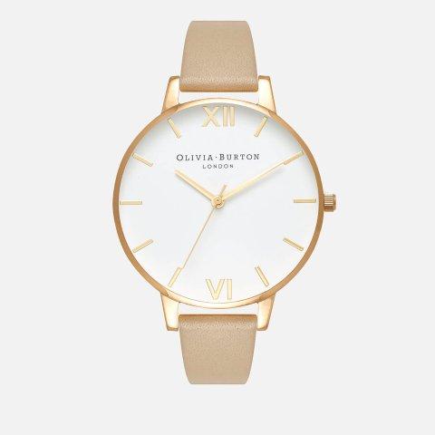 仅售€45+运费优惠Olivia Burton 精选手表震撼价 真皮表带 日本机芯还防水