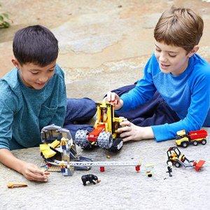 $72.99(原价$99.99)史低价:LEGO City 系列 采矿专家基地 60188