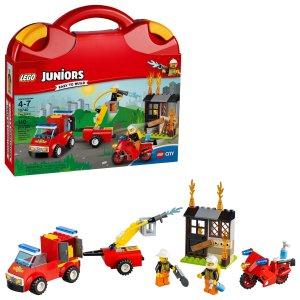 $13LEGO® Juniors Fire Patrol Suitcase 10740