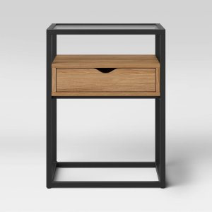 Ada End Table Glass Shelves And Metal Frame - Project 62™ : Target