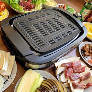 低至€32收4人双层烤盘夏日电烤炉合集 安全少烟 DIY烧烤便宜又美味 三五好友聚起来