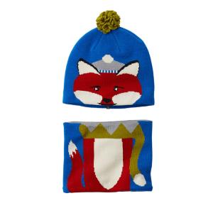 Columbia婴儿帽子围巾套装
