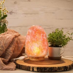 $33.99(原价$55.99)Levoit 喜马拉雅粉盐灯 瑜伽、冥想陪伴 安静的个人时光