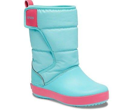 儿童雪地靴  冰蓝色