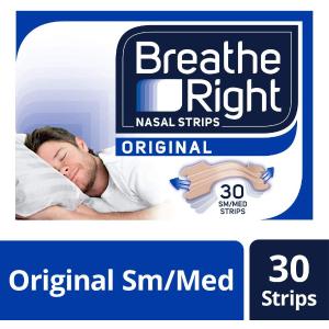 7.6折 粉丝推荐好物Breathe Right 通气鼻贴 30片装闪促 缓解鼻塞一夜好眠