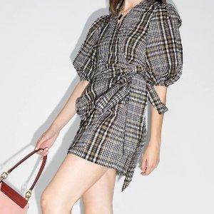低至3折 Reformation 碎花裙£63FARFETCH 仙女美裙专场 把春天穿在身上