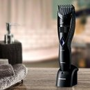 $28 Panasonic Wet and Dry Cordless Electric Beard and Hair Trimmer for Men Black 6.6 Ounce